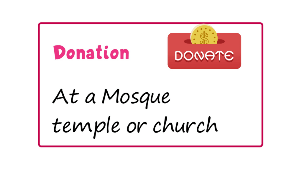 donation meaning - Money and Its Forms