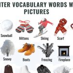 List of 50+ Winter Vocabulary Words with Pictures
